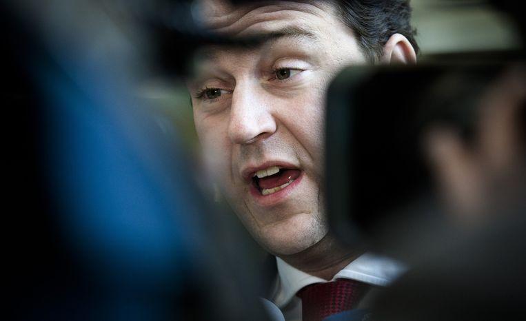 Minister Lodewijk Asscher van Sociale Zaken. 'Ik noem dit schelden'. Beeld anp