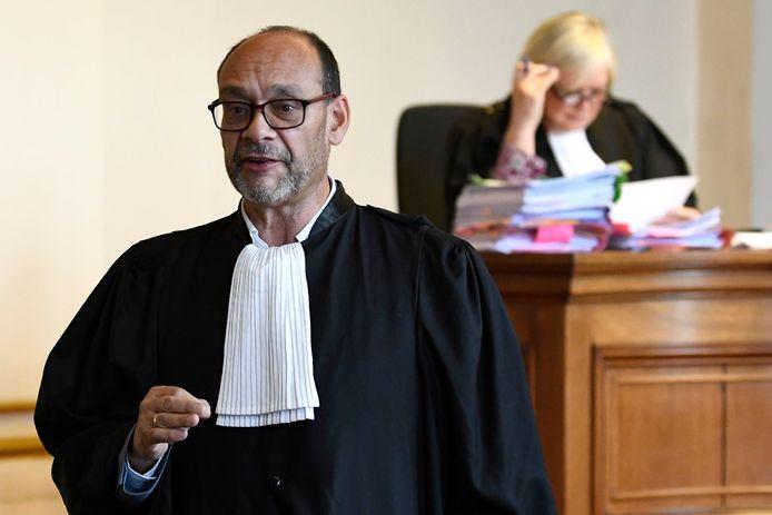 Me Marc Uyttendaele, l'avocat de Jean-Charles Luperto, ce 8 septembre.