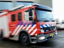 Brandweer rukt uit voor brand in chalet Putten