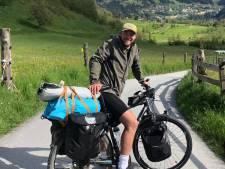 Dure fiets van Bjorn uit Deventer wordt gestolen na regenachtige tocht van 3200 kilometer: 'Dit is Athene'
