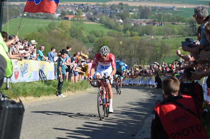 Mathieu van der Poel op de Gulperberg.