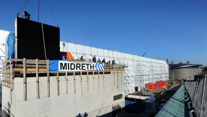 Aannemer Midreth, die zich bezig zou houden met de nieuwbouw van het Stedelijk Museum in Amsterdam, is inmiddels failliet