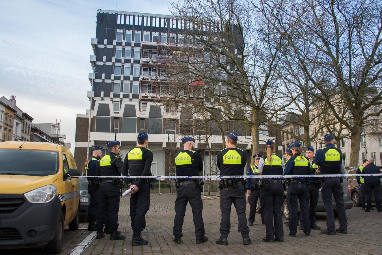 De politie zette het hof van beroep af.