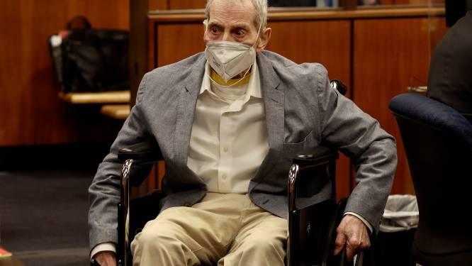 Tot levenslang veroordeelde multimiljonair Robert Durst nu ook aangeklaagd voor doodslag op zijn vrouw