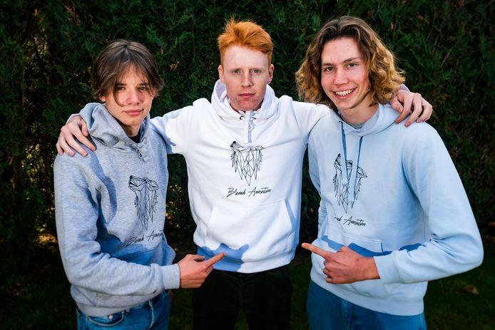 Tuur Van Laer, Ferre Debloudts en Tommy Laermans hebben een eigen kledinglijn.
