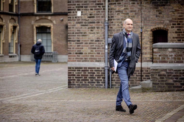 ChristenUnieleider Gert-Jan Segers. Beeld Robin van Lonkhuijsen/EPA
