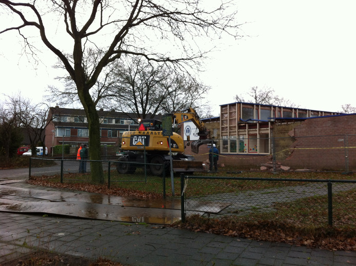 De Hartkampschool aan de Hartkampweg in Raalte werd eind 2013 gesloopt.