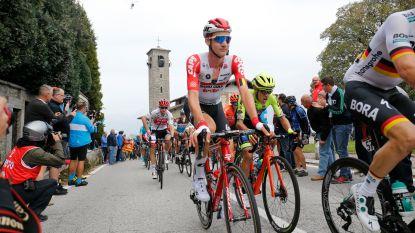 KOERS KORT. Ronde van Lombardije ingekort - ASO ziet Dauphiné ook als test van veiligheidsmaatregelen voor Tour