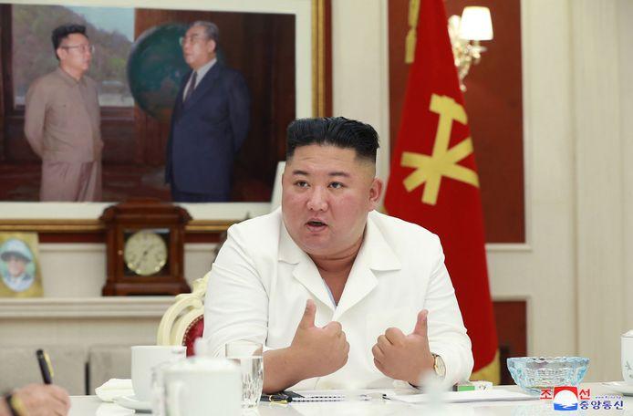 De Noord-Koreaanse leider Kim Jong-un