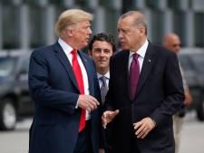 Trump nodigt Erdogan uit in Witte Huis na terugtrekken troepen uit Syrië