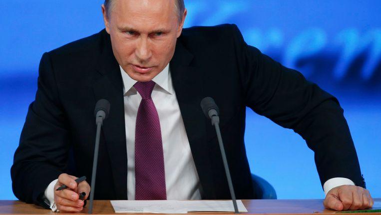 De Russische president Vladimir Poetin. Beeld REUTERS