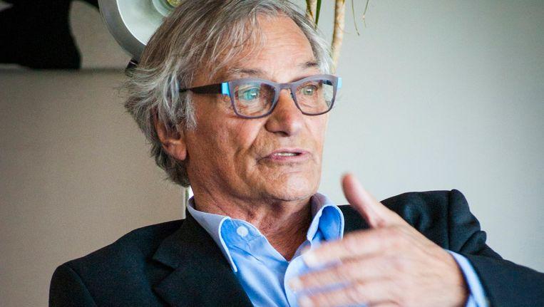 Kunstpaus Jan Hoet, overleden in februari 2014 Beeld AP