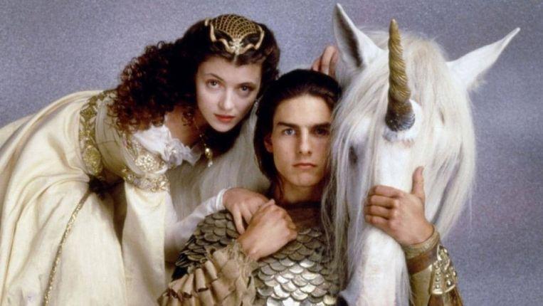 Tom Cruise en Mia Sara in Legend Beeld