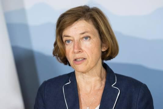 La ministre des Armées, Florence Parly
