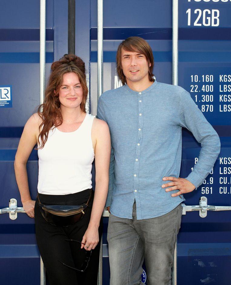 Sarah Blok en Rik van den Bos Beeld Daniel Cohen