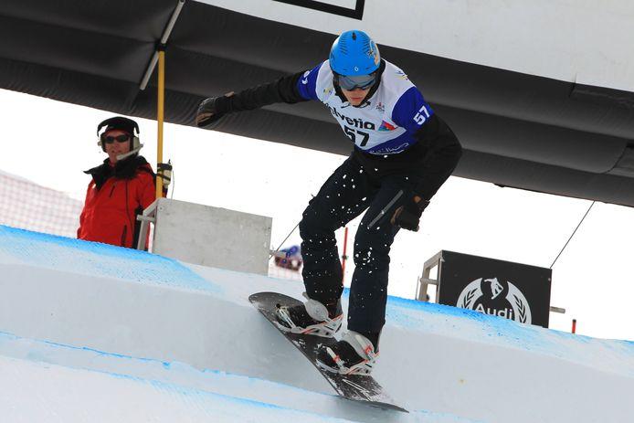 Snowboarder Glenn de Blois.