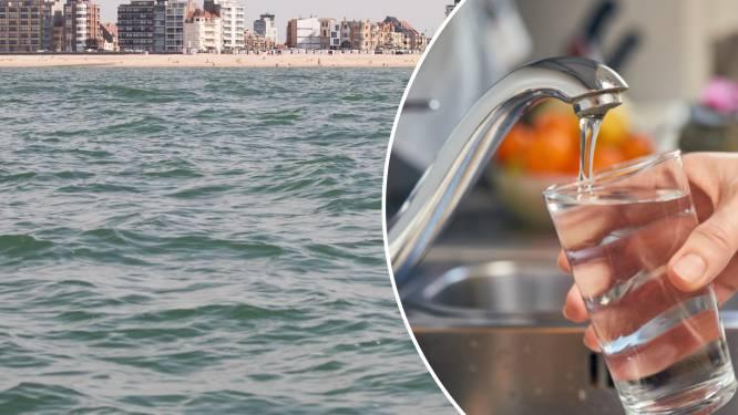 Ons drinkwater zal voortaan ook uit de Noordzee komen