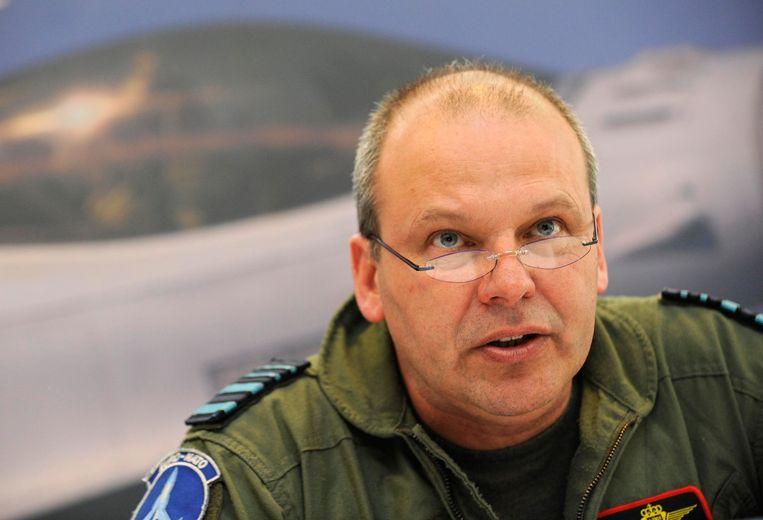 Generaal Claude Vandevoorde is topman bij ADIV, de tegenhanger van Staatsveiligheid.  Beeld BELGA