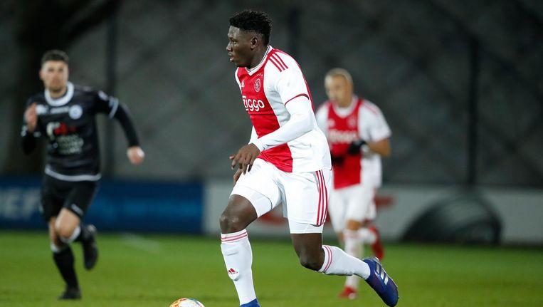 Traoré wist nog wel een doelpunt te maken voor Jong Ajax Beeld Soccratesimages
