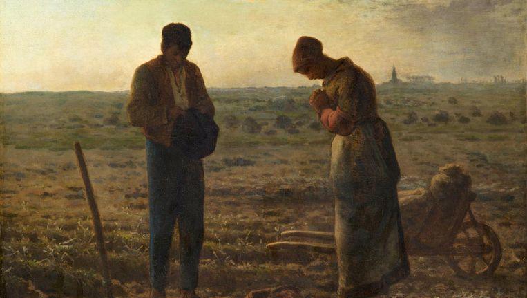 Het Angelus, Jean-François Millet. Beeld Getty / Collectie Musée d'Orsay