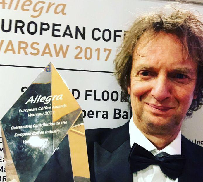 Hans Tietema uit Zwolle, oprichter van Kaldi koffie&thee.