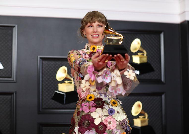 Taylor Swift won de Grammy voor album van het jaar. Beeld Los Angeles Times