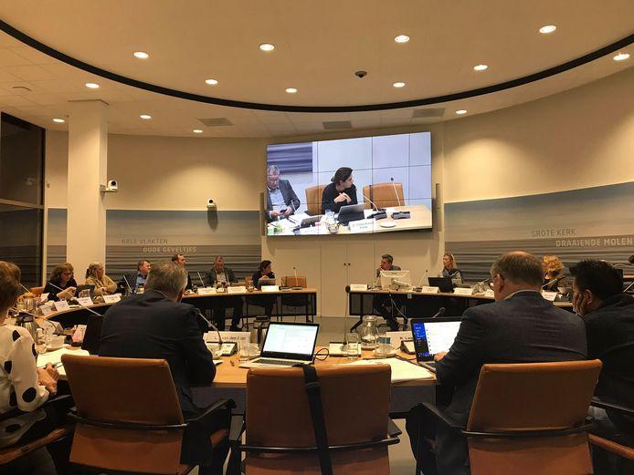 De gemeenteraad van Papendrecht vergadert.