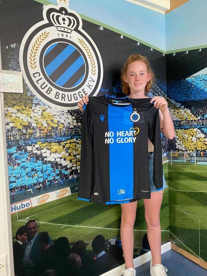 Jade Heida uit Terneuzen speelt met ingang van komend seizoen voor Club Brugge.
