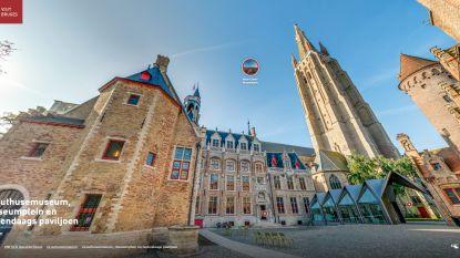 """Ontdek de Brugse binnenstad en musea tijdens virtuele 360°-rondleiding: """"Ideale timing nu coronavirus ons afsluit van rest van de wereld"""""""