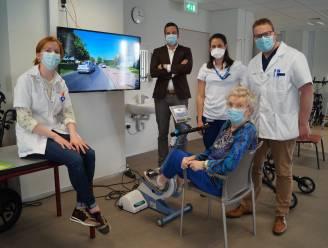 Patiënten kunnen nu virtueel fietstochtje maken in Sint-Andriesziekenhuis