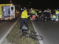 Fietsster zwaargewond na aanrijding in Vlaardingen