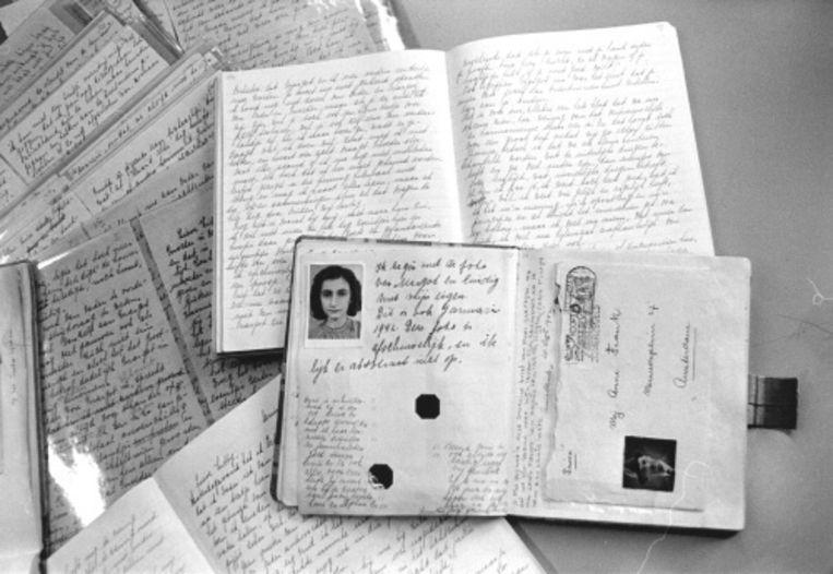 null Beeld Dagboeken van Anne Frank. ANP