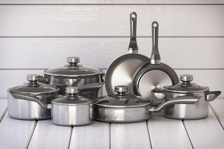 Gietijzer, aluminium of staal: in welke pan kook je het lekkerst? Beeld Getty Images/iStockphoto