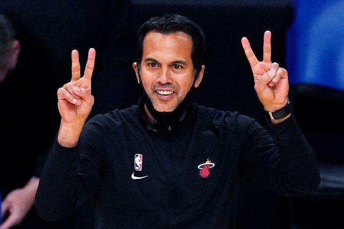 Erik Spoelstra, le coach du Heat.