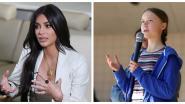 """Kim Kardashian onder de indruk van """"dappere"""" Greta Thunberg: """"Ze is exact wat we nodig hebben"""""""