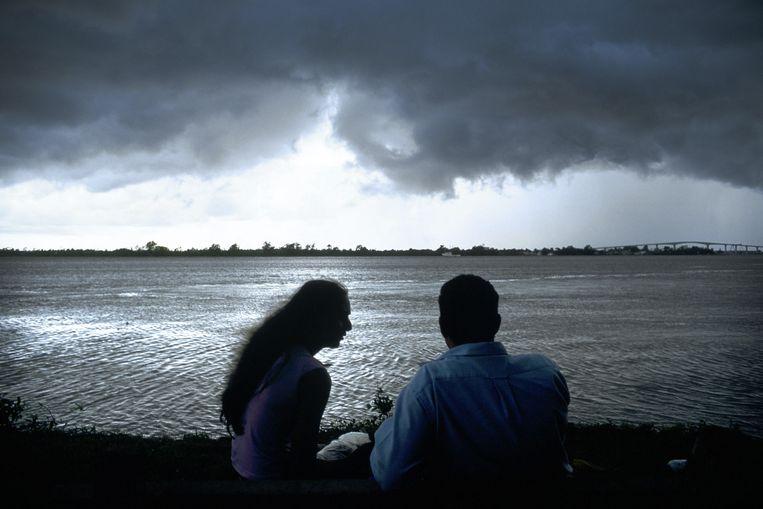 De Suriname-rivier.  Beeld Guus Dubbelman / de Volkskrant
