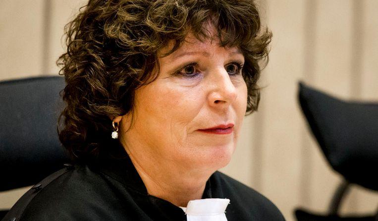 Rechter Elianne van Rens voor de tweede openbare zitting in de strafzaak tegen Wilders. Beeld anp