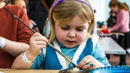 Bib trakteert kinderen op kunstige workshops