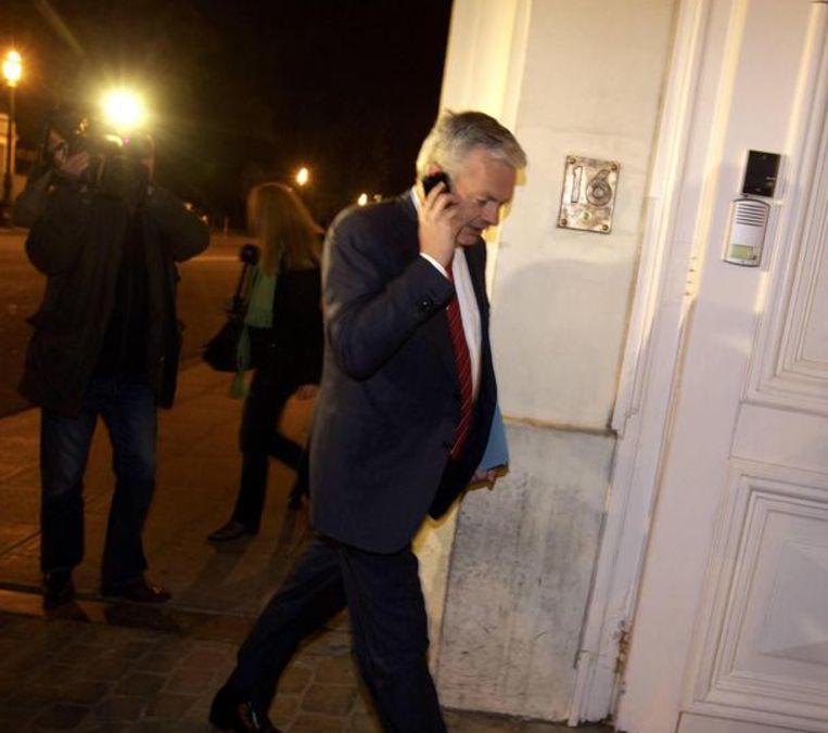Minister van Financiën Didier Reynders (MR). Beeld BELGA