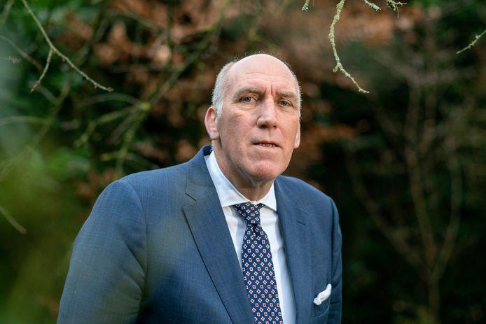 Jan Hein Sträter, directeur van de brancheorganisatie van de Nederlandse tabaksindustrie.
