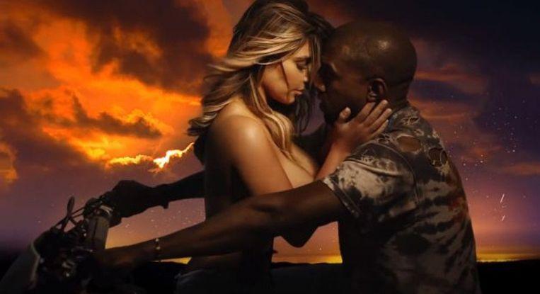 Kanye & Kim Beeld YouTube