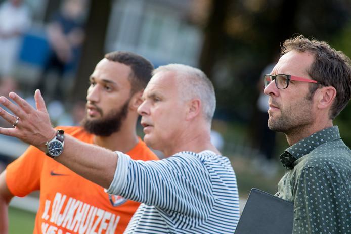 Arjan van der Laan (rechts) en Gery Vink staan dit seizoen aan het roer bij TEC.