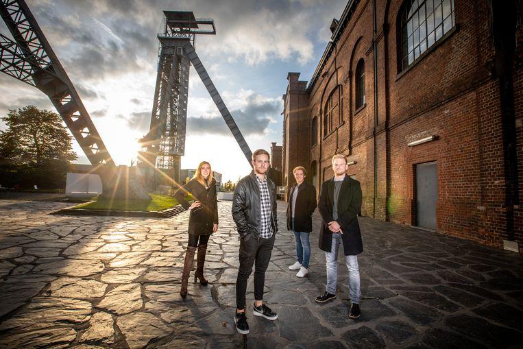Lennert Haesevoets, Pauline Lemmens, Thorben Jansen en Yannick Haesevoets van Lennow Productions.