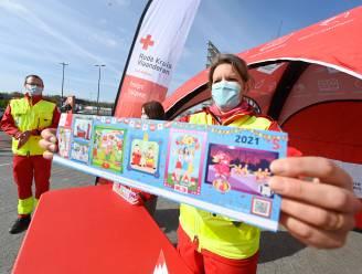 """Herenthoutse Rode Kruis verkoopt 1.215 stickers: """"Na moeilijke start toch nog succesvolle verkoop"""""""