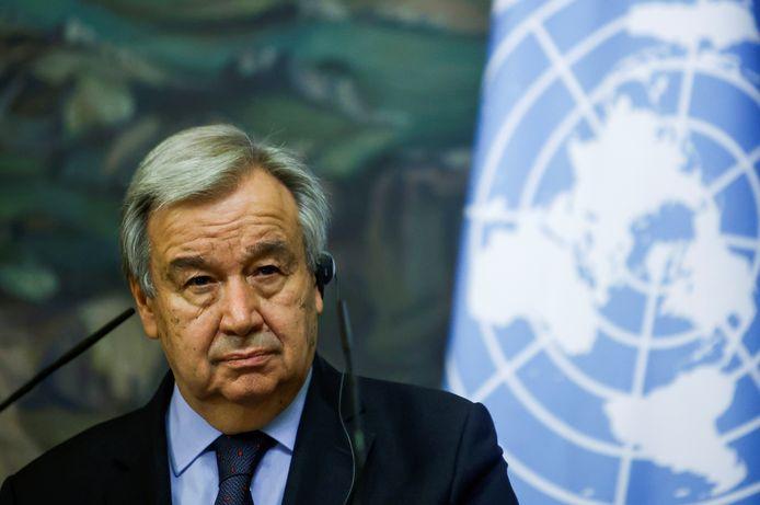 VN-secretaris-generaal António Guterres