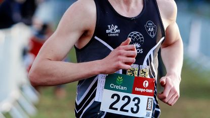 Toon Poppe uit Moorsel beste junior op het PK veldlopen in Maldegem