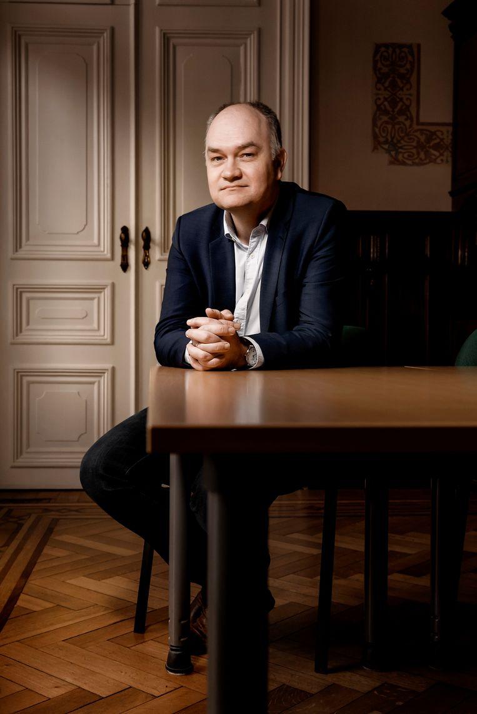 Björn Rzoska. Beeld Eric de Mildt