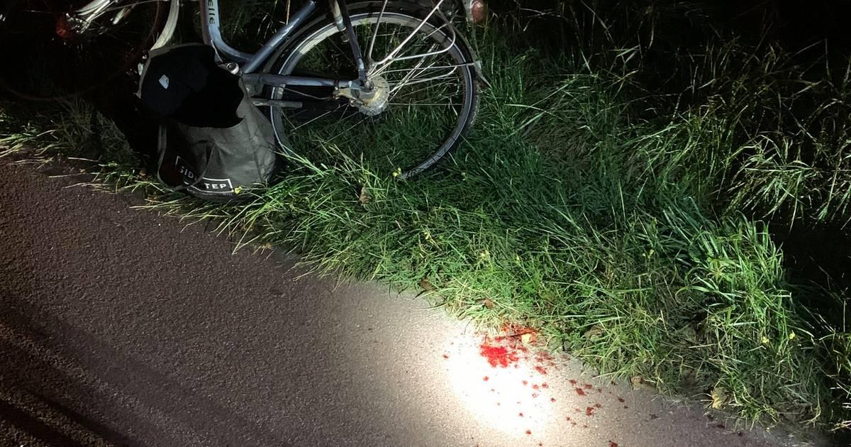 Voetganger gewond bij nachtelijke botsing met fietser in Domburg.
