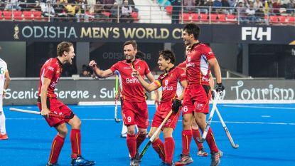 Red Lions hebben geen kind aan Pakistan (5-0), in kwartfinales wacht kraker tegen Duitsland