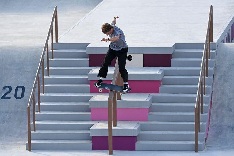 'Skateboarden op de Spelen? In het begin was ik daar ook niet zot van.' Beeld BELGA